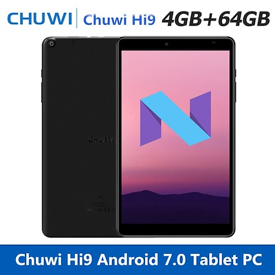 Chuwi Hi9 Tablet PC 8.4 inch Android 7.0 MTK8173 - BLACK