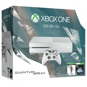 Xbox One 500GB White Console - Special Edition Quantum Break Bundle