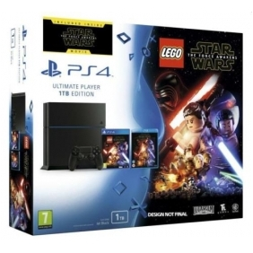 PlayStation 4 1TB + LEGO STAR WARS + BLURAY PS4 CHASSIS NERA SONY PROMO