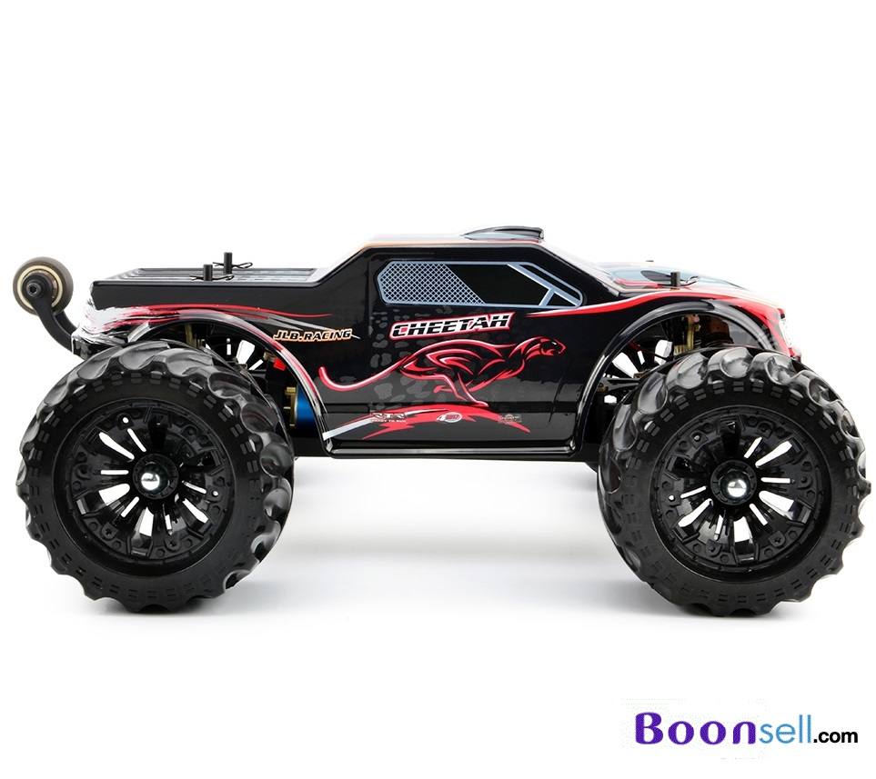 JLB Cheetah 1:10 2.4GHz 4WD RC Racing Car - RTR - RED WITH BLACK