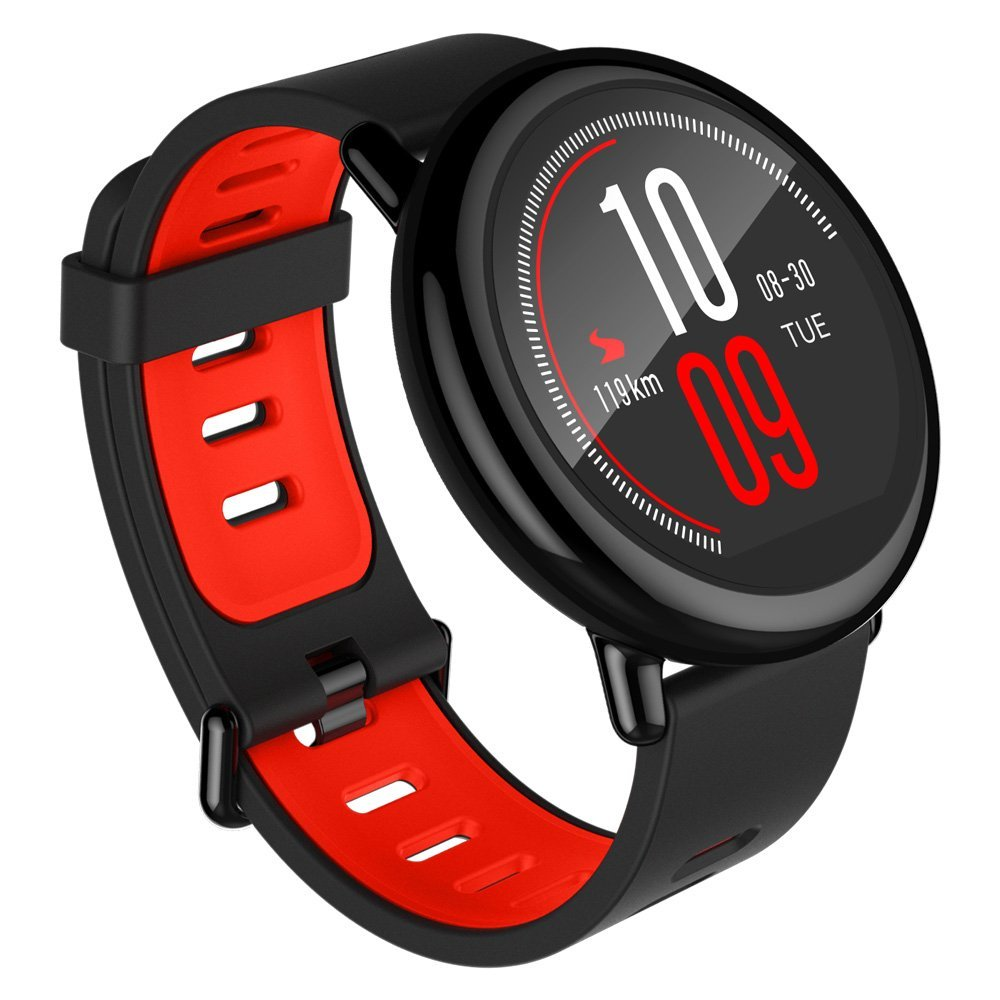 Xiaomi AMAZFIT Heart Rate Smartwatch - BRIGHT ORANGE INTERNATIONAL VERSION