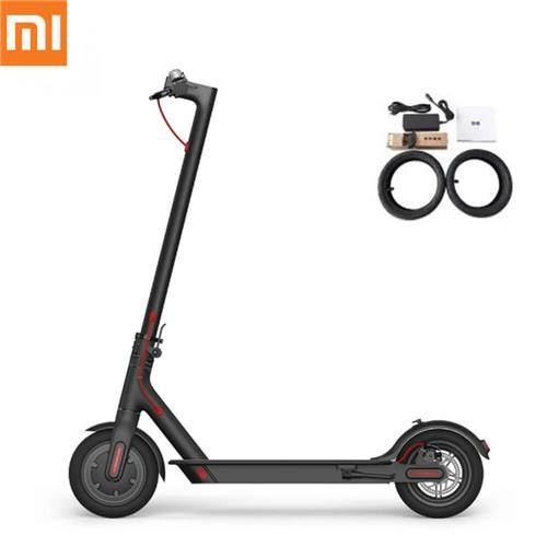 Original Cheap Xiaomi M365 Folding Electric Scooter - BLACK