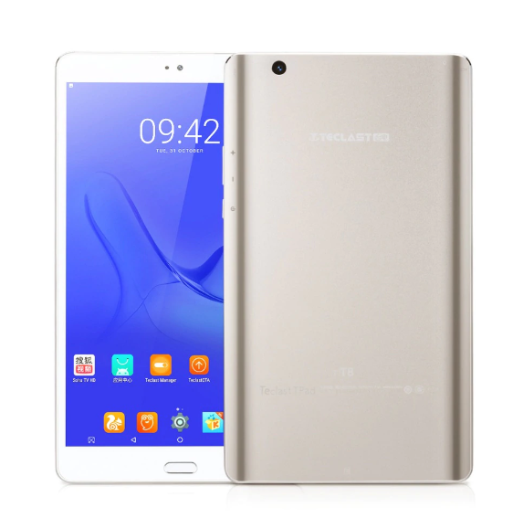 Teclast Master T8 Tablet PC Fingerprint Recognition - CHAMPAGNE GOLD