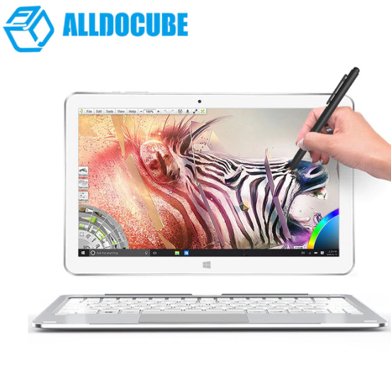 ALLDOCUBE Mix Plus 2 in 1 Tablet PC - Windows 10 Intel Kaby Lake Core M3-7Y30 Dual Core 1.61GHz 10.6 inch