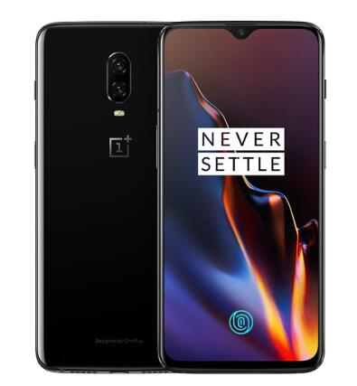 OnePlus 6T 6.41Inch 3700mAh Fast Charge Android 9.0 6GB RAM 128GB ROM Snapdragon 845 4G Smartphone - Black