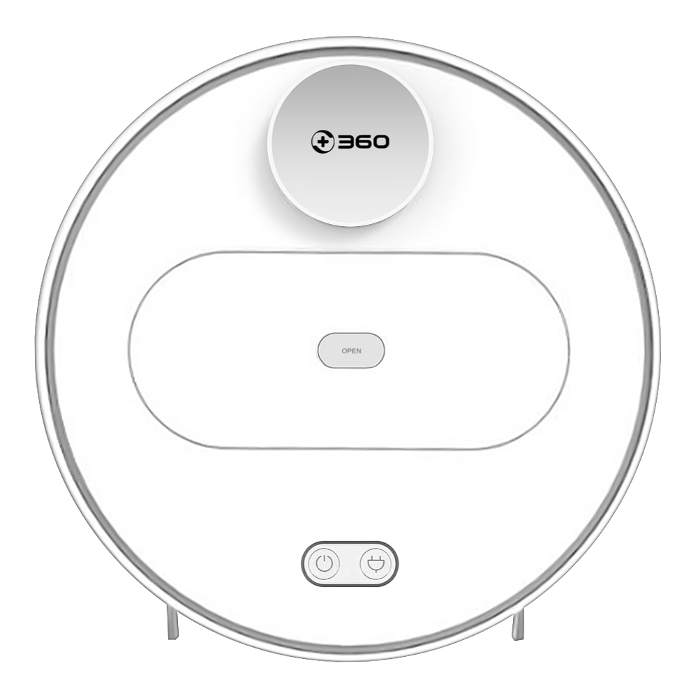 360 S6 Automatic Robotic Vacuum Cleaner - WHITE