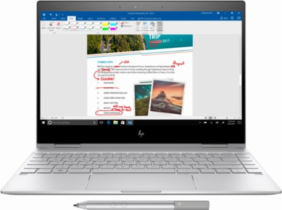 "HP - Spectre x360 2-in-1 13.3"" Privacy Touch-Screen Laptop"