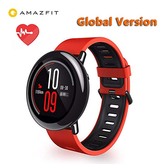 Xiaomi AMAZFIT Sports Bluetooth Smart Watch - RED ENGLISH VERSION