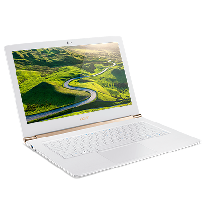 Acer S5 - 371 - 5018 Notebook 13.3 inch Windows 10 Home Chinese Version- WHITE