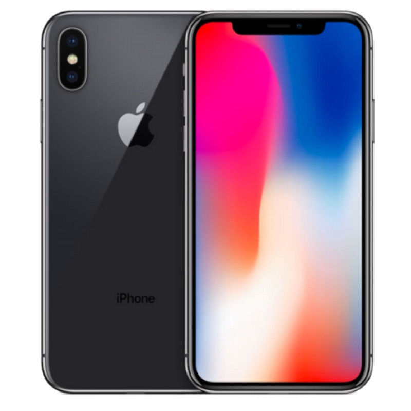 Apple iPhone X 256GB Space Gray New Original Unlocked Phone