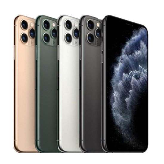 iPhone 11 Pro Max iOS 13 Snapdragon 855 Octa Core 6.5inch Super Retina Screen 4G LTE 512GB