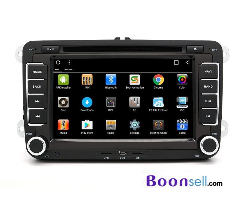Junsun DVD - 7.0 - CE 7.0 inch 2 Din In-dash Car DVD MP3 Player - BLACK