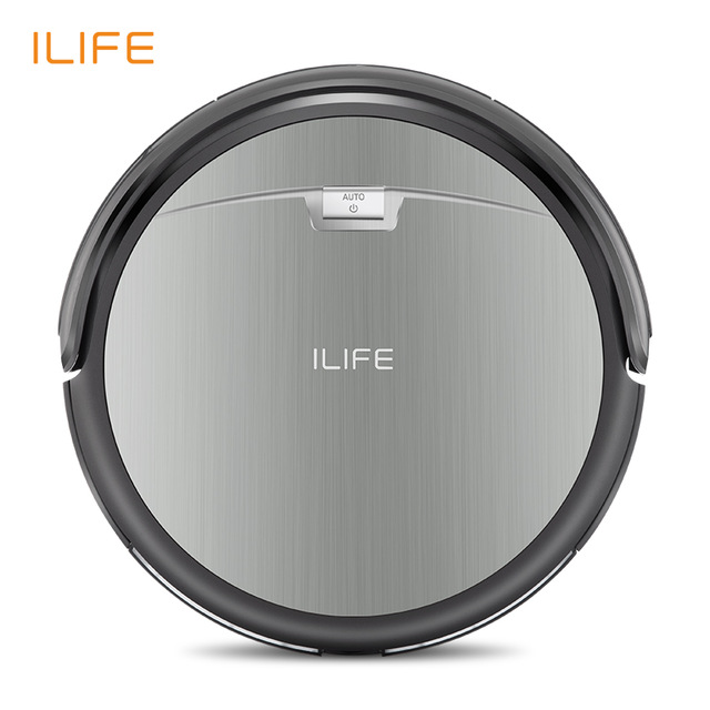 ILIFE A4S Smart Robotic Vacuum Cleaner - GRAY EU PLUG