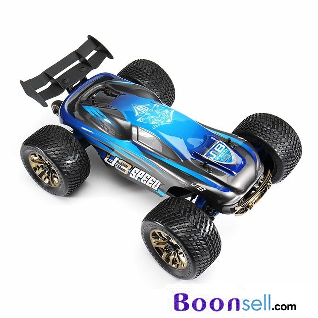 JLB Racing J3 SPEED 1:10 4WD RC Off-road Truggy - BLUE RTR - EU PLUG