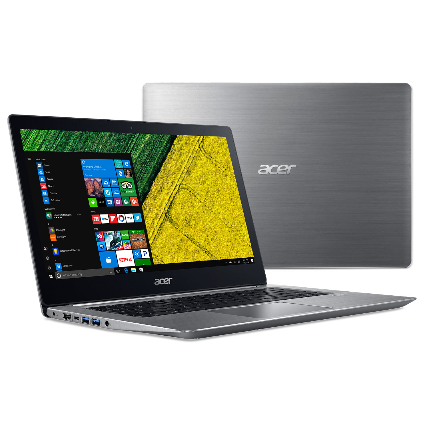 Acer SF314 - 52G - 5079 Notebook Fingerprint Recognition - SILVER