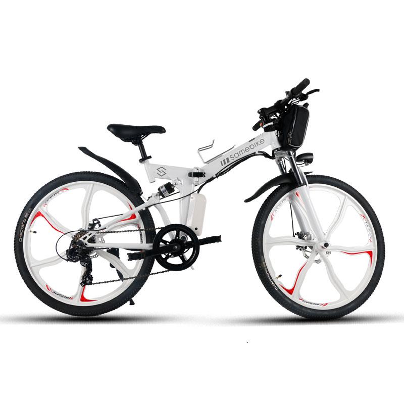 Samebike LO26 Moped Electric Bike Smart Folding Bike E-bike