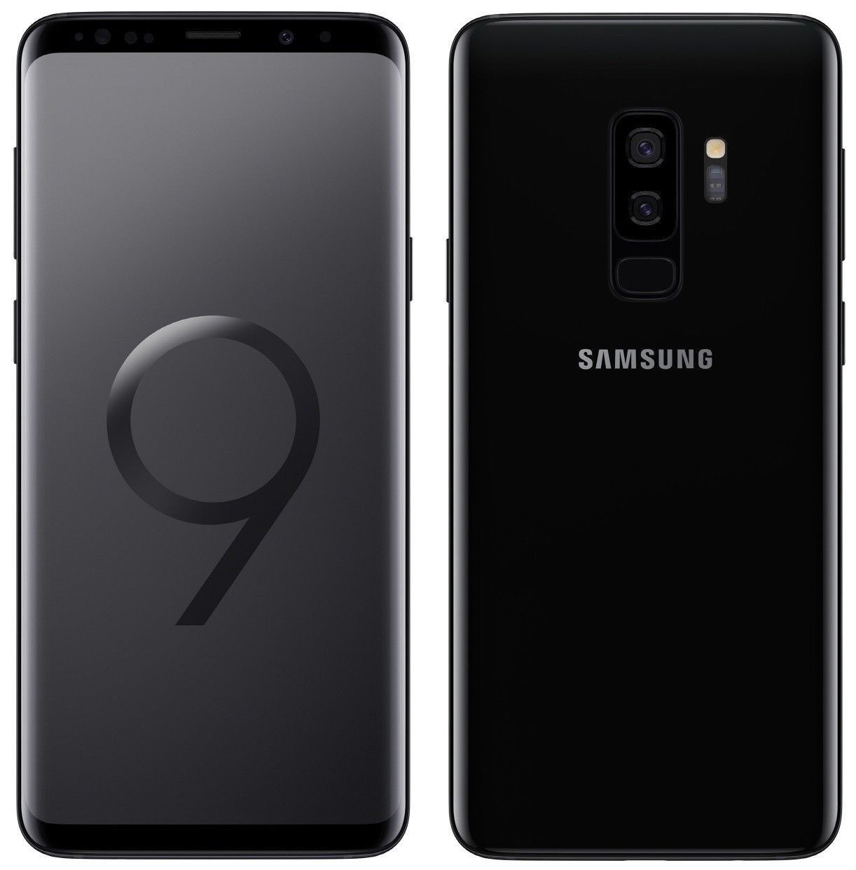 Samsung Galaxy S9 Plus Dual Sim G965FD 6GB RAM 128GB ROM Midnight Black Color