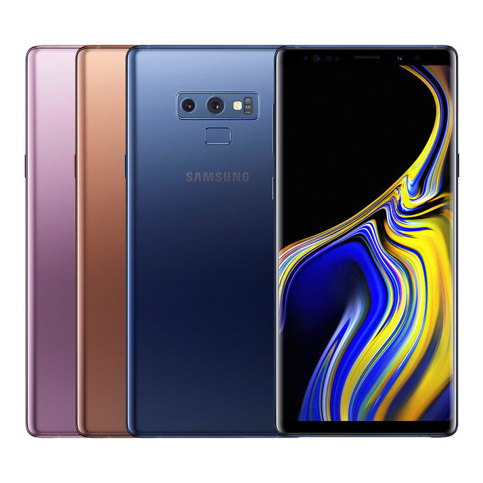 "Samsung Galaxy Note 9 SM-N960F/DS 6.4"" Factory Unlocked GSM with International warranty"