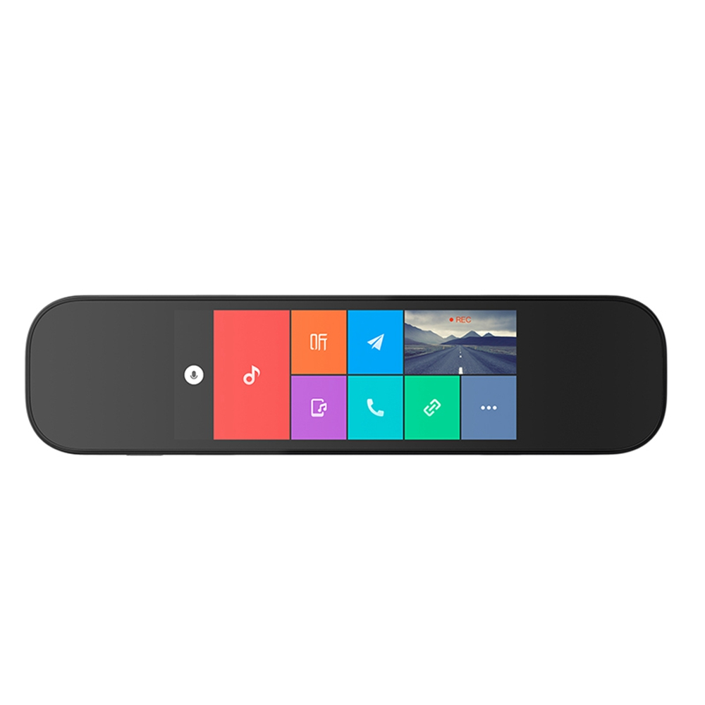 Xiaomi Mijia 5 inch Smart Rearview Mirror Car DVR - BLACK