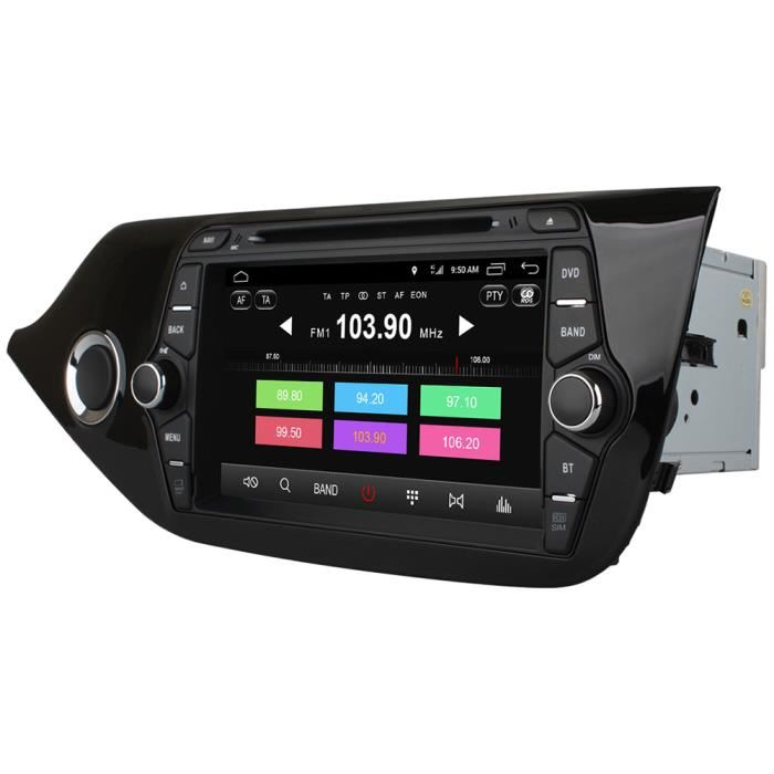 Ownice C500 OL - 8733F Car DVD Player GPS Navigation 7 inch Quad-core Double Din - BLACK