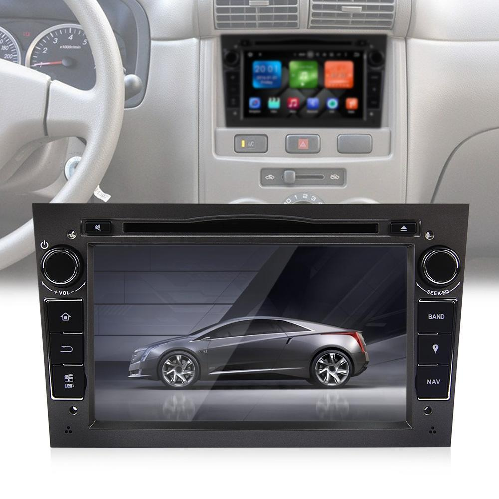 WB7060 - DW Android 6.0.1 Car DVD Player for Opel - BLACK