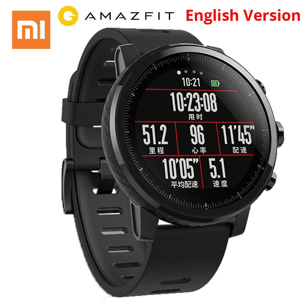 Xiaomi Amazfit Smartwatch 2 English Version - BLACK