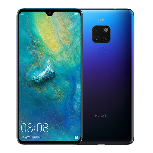 Huawei Mate 20 Kirin 980 Soc Octa-core 2.6 GHz with 4000mAh battery