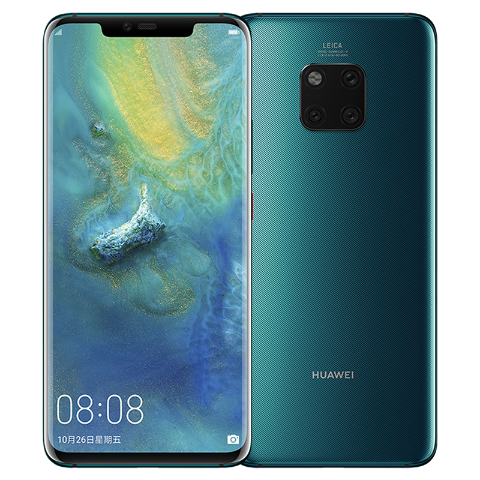 Huawei Mate 20 Pro Kirin 980 Soc Octa-core 2.6 GHz with 6.39-inch OLED Screen