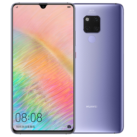 Huawei Mate 20 X Kirin 980 Soc Octa-core 2.6 GHz with 5000mAh battery
