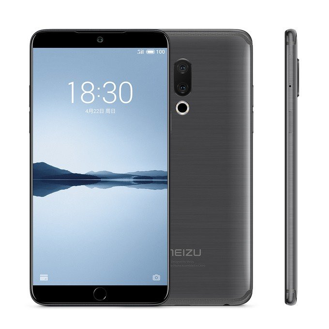 Meizu 15 Plus 6GB 128GB Gray Color Unlocked Phone