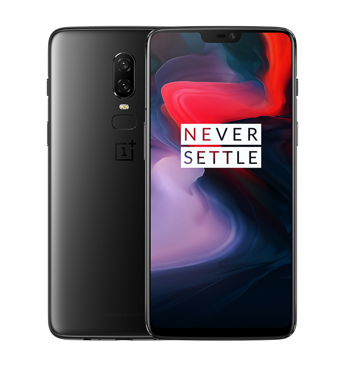 OnePlus 6 4G Phablet Global Edition - MIRROR BLACK