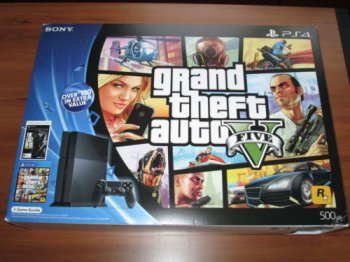 PS4 Grand Theft Auto V Bundle black Console Edition
