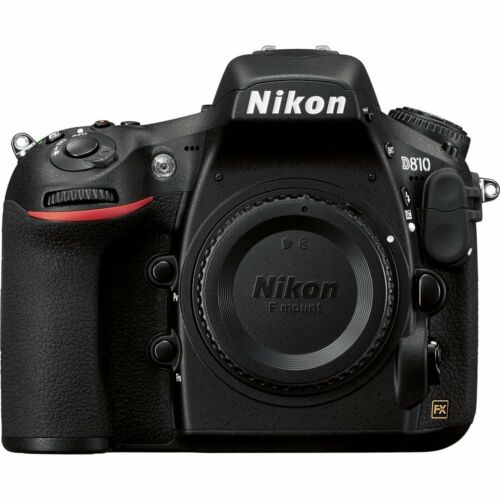 Nikon D810 36.3MP Full-Frame DSLR - Black