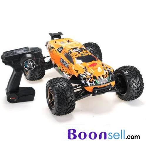 VKAR RACING BISON V2 1:10 RC Truck Frame Kit - ATR - ORANGE ATR VERSION