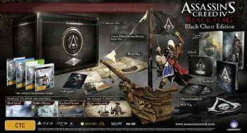 Assassins Creed IV 4 Black Flag The Black Chest Edition Xbox ONE