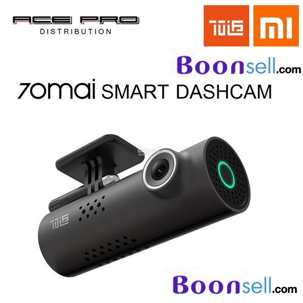 Xiaomi 70mai Dash Cam Smart WiFi Car DVR International Version - BLACK