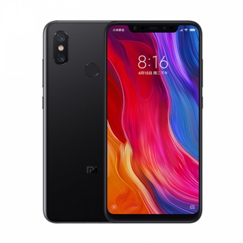 Xiaomi Mi 8 4G Phablet Global Edition - BLACK