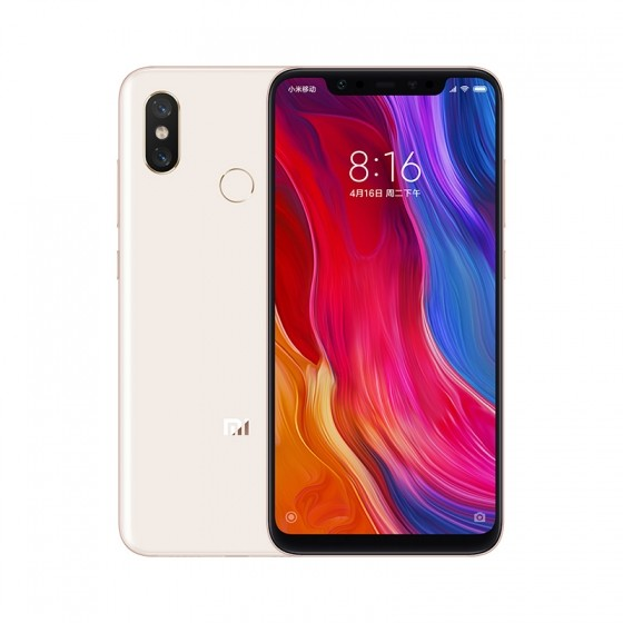 Xiaomi Mi 8 4G Phablet International Version 6GB RAM 128GB ROM - GOLD