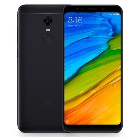 Xiaomi Redmi 5 Plus 4G Phablet 3GB RAM Global Version - BLACK