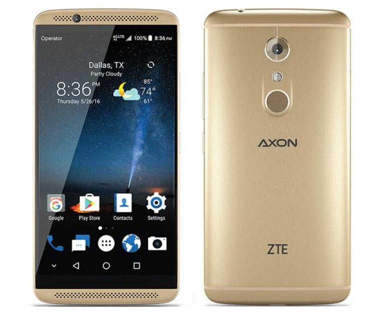 ZTE AXON 7 4G Phablet Global Version - GOLDEN